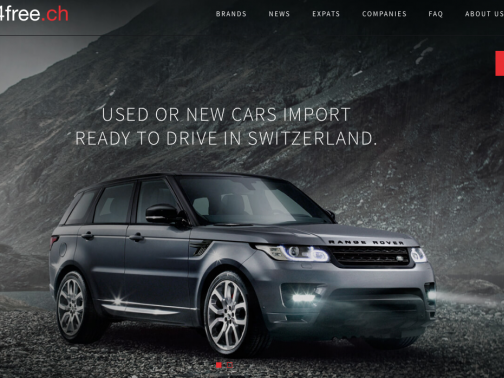 Driving4free.ch gets a new look.